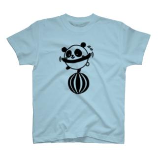 ボールコロコロ(線画:黒バージョン) T-shirts