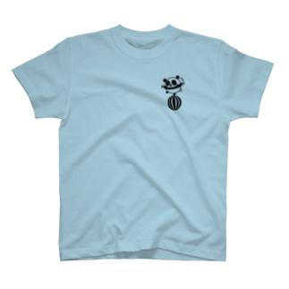 ボールコロコロ(小)(線画:黒バージョン) T-shirts