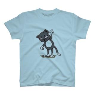 くつ下ねこさん(あやまる) T-shirts