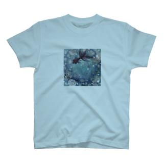 水沫遊び T-shirts