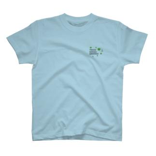 十勝ほんわかシマエナガ【Clover2】 T-shirts