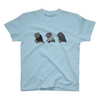 子熊トリオ T-Shirt