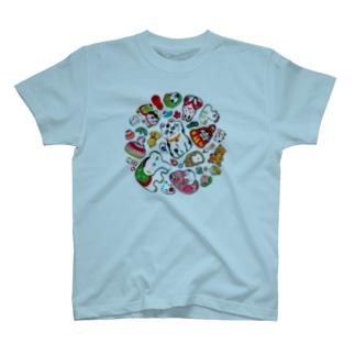 gangu(ちりばめ◎) T-shirts