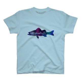 テトラポッツロゴ(シーバス) T-shirts