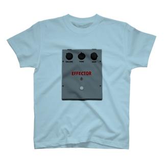 musicshop BOBのエフェクター - EFFECTOR T-shirts