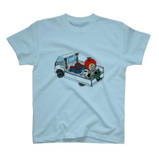 中林ういの三水家の人々 ランチタイム T-shirts