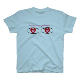 トロワ イラスト&写真館の惚れた欲目 T-Shirt
