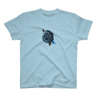 コバルトツリーモニター T-shirts