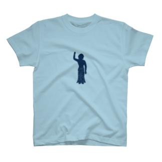 おはなまつり(紺) T-shirts