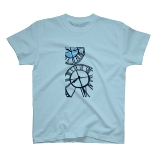time goes by(黒) T-shirts