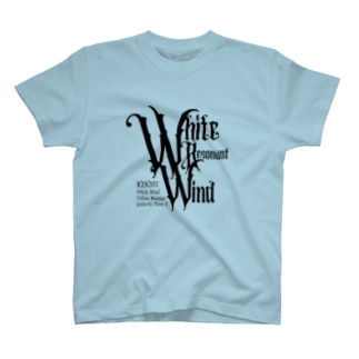 KIN202白い共振の風 T-Shirt