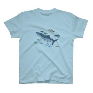 33 STOREのうみのいきもの T-shirts
