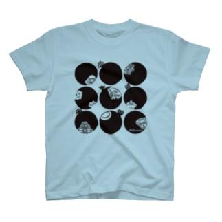 ドットドニワ T-shirts