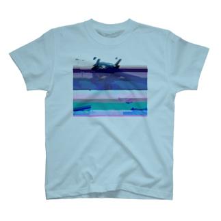 グリッチセーラーちゃん T-shirts