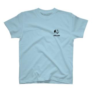 モノクロ【脳】 T-shirts