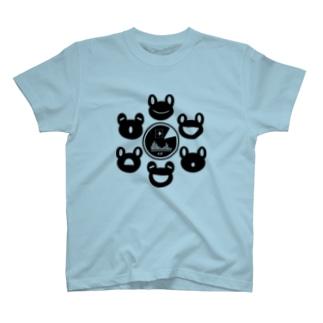 カエルの合唱団 T-shirts