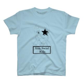 A.S.K.コワモエ T-shirts