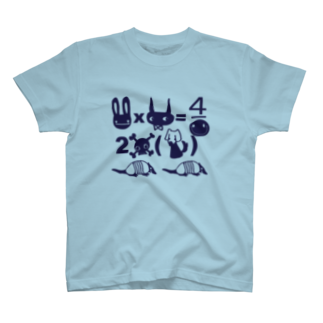 FINCH LIQUEUR RECORDSのにゅにゅ方程式 T-shirts
