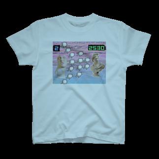 めじろのVaporwaveっぽいやつ T-shirts