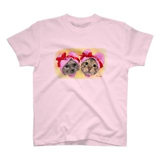うにちゃん たびちゃん Tシャツ