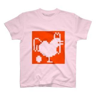 にわとり Tシャツ