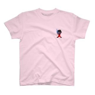 SW表と裏の二刀流毒プル Tシャツ