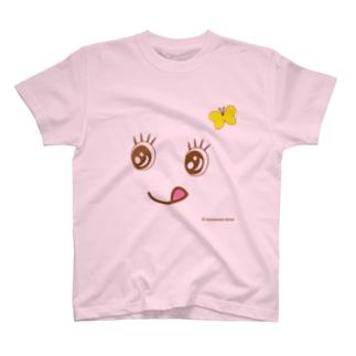 """ぺろり""""みかうぇる"""" Tシャツ"""