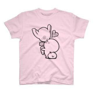 Spoiled Rabbit - Nose Kiss / あまえんぼうさちゃん - ハナキッス Tシャツ