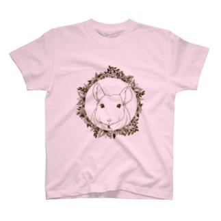 モノクロリース*チンチラ Tシャツ