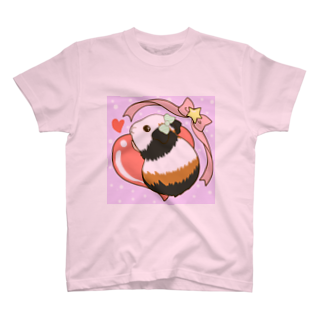 Lichtmuhleのゆめかわふわふわモルモット02 Tシャツ