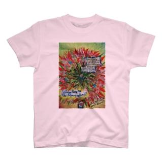 Flower's Gone Tシャツ