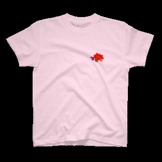 ポルタカリーナサロンのハリネズミ Tシャツ