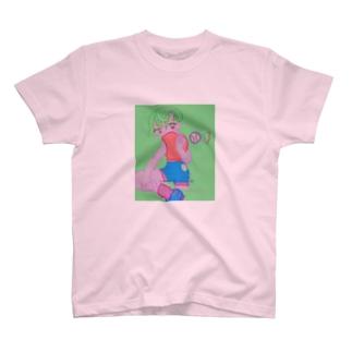 謎のキャッチャ Tシャツ