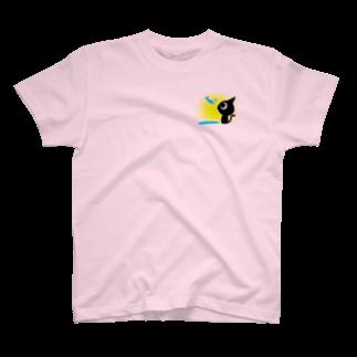 魚の夢CHの魚の夢〜ネコトビツクリトボク〜Tシャツ