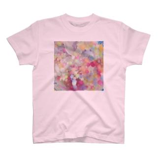 甘くて冷たい惑星 Tシャツ