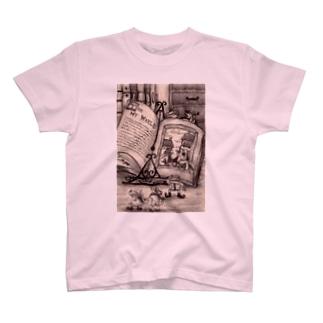 ちょっとお散歩、外の世界 Tシャツ