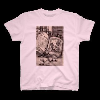 葉守 碧のちょっとお散歩、外の世界Tシャツ