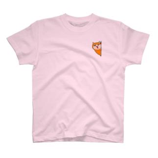 覗くクソハムちゃん Tシャツ
