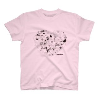 Kayaributa (Pink) Tシャツ