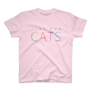 JUST FOR CATS / 4C Tシャツ