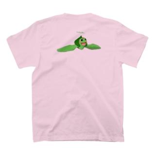 ウミガメアカミミガメ 遊泳 T-shirts