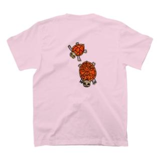 子亀のミシニ T-shirts