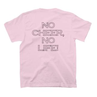 NO CHEER,NO LIFE!背面ロゴ T-shirts