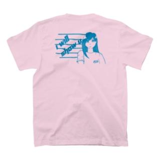 介錯少女 T-shirts (PINK/SKY BLUE) T-shirts