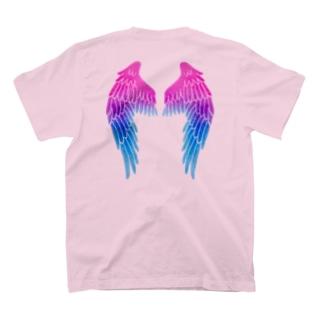 Angel channeling Art 天使のお部屋の天使の羽根2 T-shirts