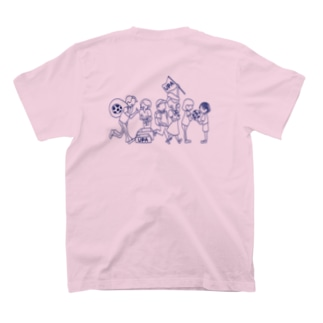 UPA method NAVY T-shirts