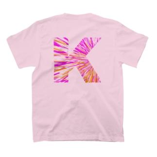 【バックプリント】 K T-shirts