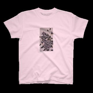 あしゃ姫のBlack Rose T-shirts