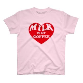 巨乳に見えるハート T-shirts