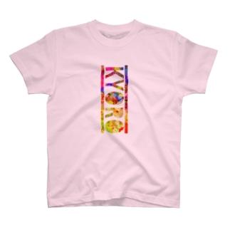 キョロTシャツ(レインボー) T-shirts